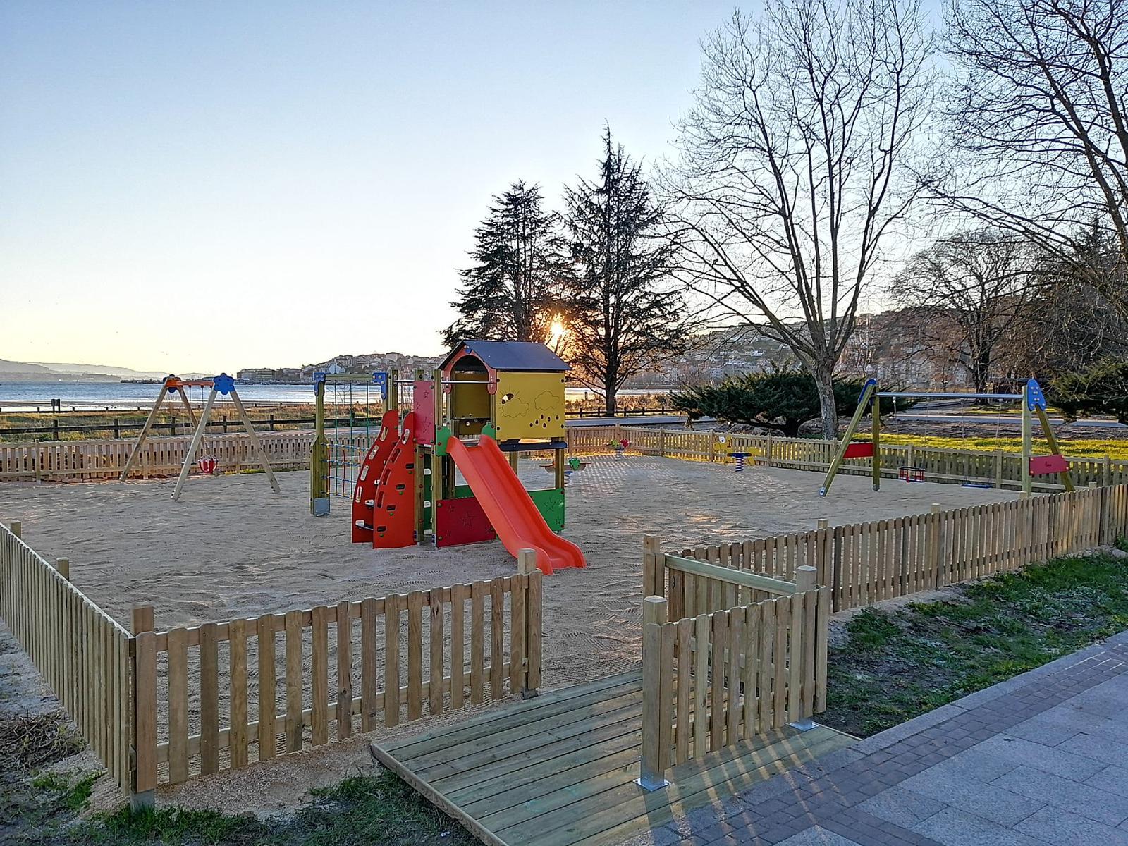 Estado final del parque